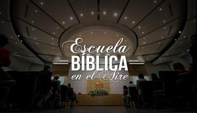 Escuela bíblica en el aire